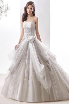 Grey Wedding Dresses |Light Grey Wedding Dresses - UCenter Dress