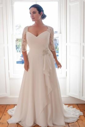 Greek Style Wedding Dresses | Goddess Wedding Dresses - UCenter Dress