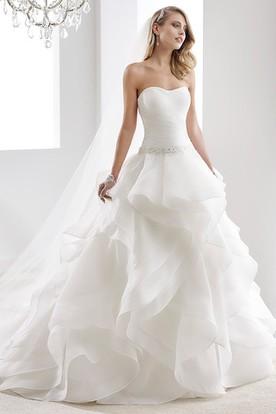 Organza Wedding Dresses Ruffled Organza Wedding Dresses UCenter
