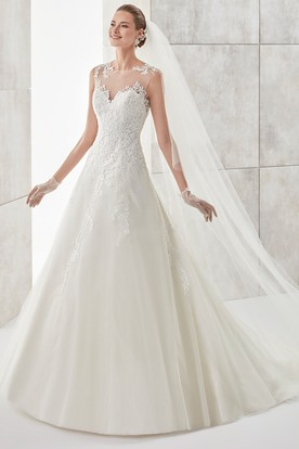 Lace Wedding Dresses | Lace Wedding Gowns - UCenter Dress