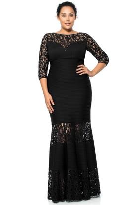 black evening dresses plus size - Dress Yp
