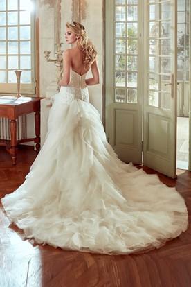 High-Low Wedding Gowns | Hi-Lo Wedding Dresses - UCenter Dress