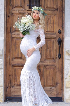 Maternity Wedding Dresses Pregnant Bridal Dresses UCenter Dress