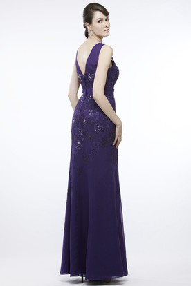 Dark Purple Prom Dresses | Purple Evening Dresses - UCenter Dress