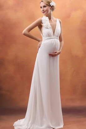 Wedding Dresses For Pregnant Women Maternity Dresses Ucenter Dress