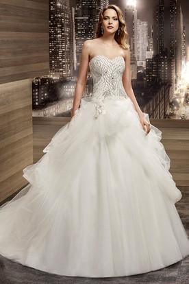 Lace Up Bridal Dresses | Corset Wedding Gowns - Ucenter Dress