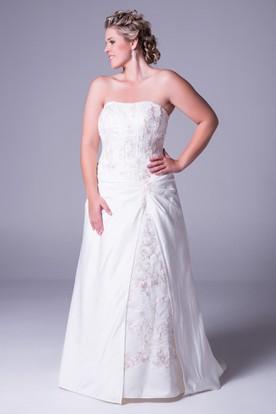 Plus Size Summer Wedding Dresses | Summer Wed Gowns - UCenter Dress