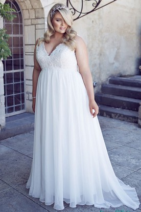 Plus Figure Maternity Bridal Dresses, Big Size Pregnancy Wedding ...