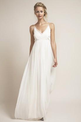 Empire Wedding Dresses | New Empire Wedding Gowns - UCenter Dress