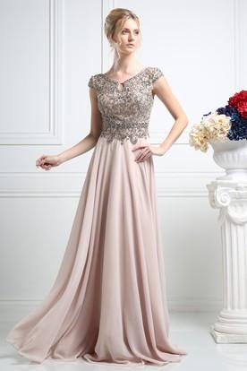 Vintage Inspired Prom Dress