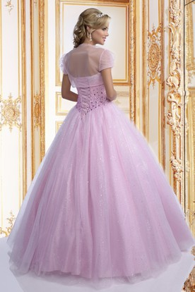 c5482a29a1ba Simple Style Quinceanera Gowns, Simple Ball Gown Dresses - UCenter ...