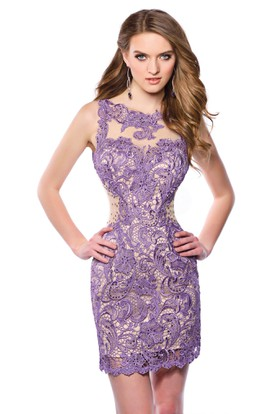 Lavender Cocktail Dress