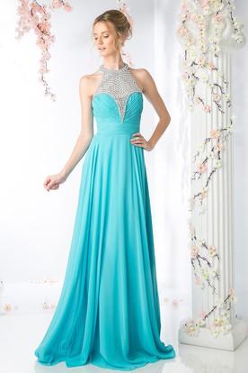 plain prom dress