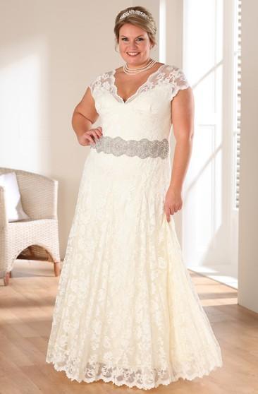 Plus Size Beach Wedding Dresses | Plus Size Chiffon Gowns ...