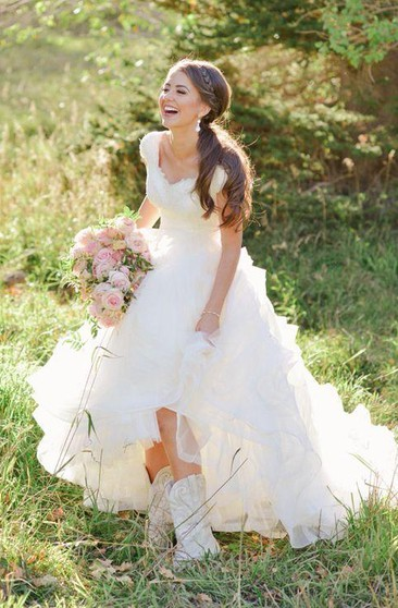 Country Theme Wedding Gowns Bridal Dress Country Ucenter