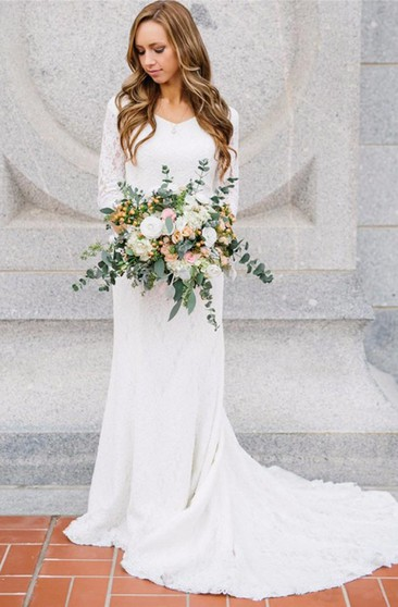 Modest Wedding Dresses Wedding Dresses For Mormons Ucenter Dress