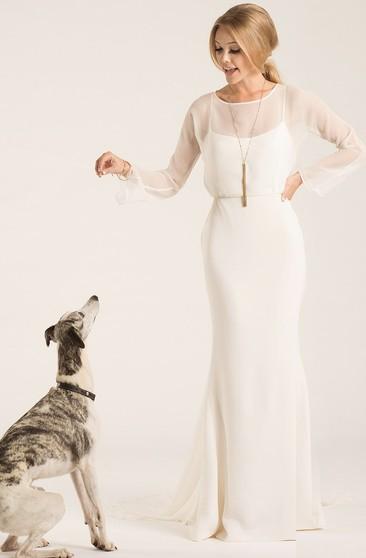 Bridal Dresses Age Above 50, Wedding Gown For Older Brides
