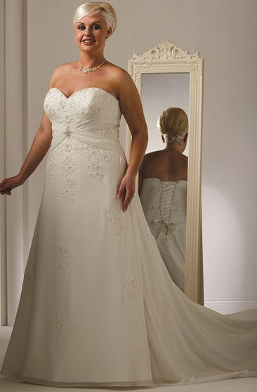Plus Size Modest Wedding Dresses | Modest Plus Size Wedding ...