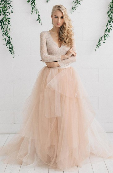 Peach Color Wedding Gowns Peach Bridal Dresses Ucenter Dress