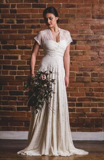 Plus Size Boho Wedding Dresses, Full Figure Boho Wedding ...