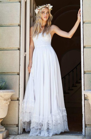 Bohemian Bridal Dresses Cheap Boho Style Wedding Gown Ucenter Dress