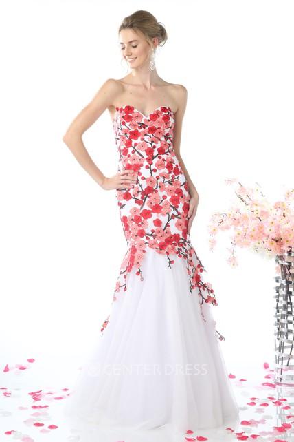 622b8e3bfc82 Lace Mermaid Style Flower Dresses - Flowers Healthy