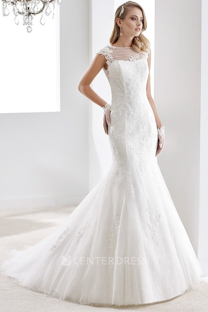 13a3e8f7d58 Sweetheart Ruching A-line Wedding Gown with Beaded Decoration and Pleated  Bodice - UCenter Dress