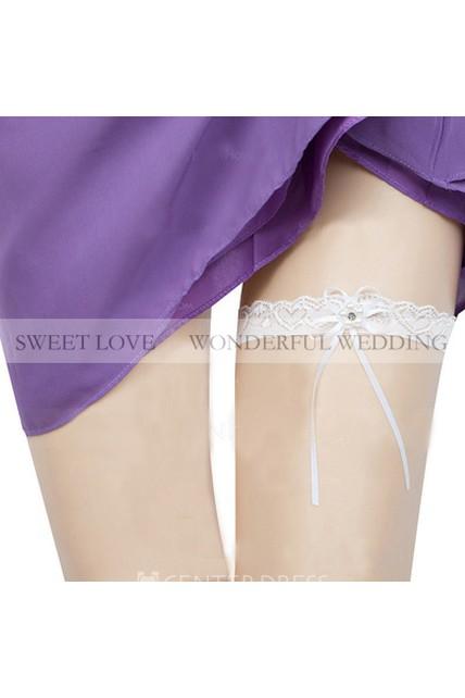 e734a51e6 Fresh Fairy White Lace Elastic Garter Within 16-23inch - UCenter Dress