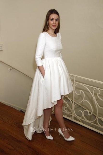 High Front Long Back Dresses