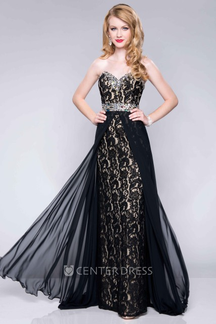 Columns Sheath Silhouette Prom Dress
