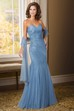 Sweetheart Mermaid Mother Of The Bride Dress With Appliques And Shawl