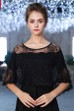 Diamond Black Autumn Thin Gauze Cloak Lace Shawl